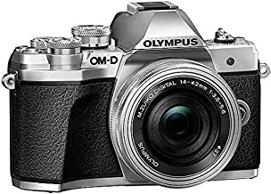 Olympus OM-D E-M10 MarkIII Double Zoom kit 14-42mm EZ & 40-150mm R (Sliver)