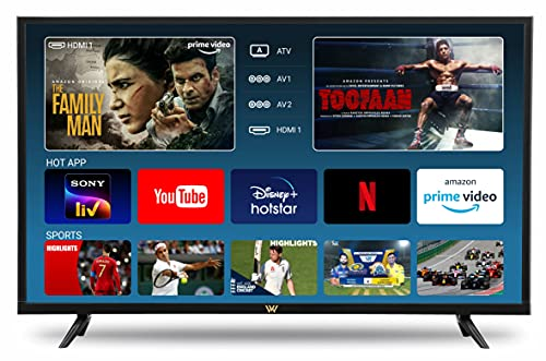 VW 32 inches HD Ready LED Smart TV