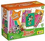 Lisciani - 44 gatos - Cartas gigantes - Juego de mesa para niños a partir de 4 años