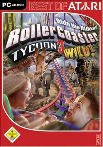 Roller Coaster Tycoon 3: Wild! [Best of Atari]