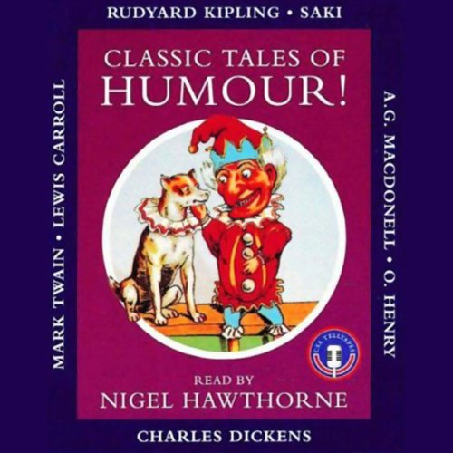 Classic Tales of Humour audiobook cover art