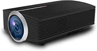 أنظمة المسرح المنزلي JHMJHM YG500 1200 LUX 800*480 LED بروجكتور HD المسرح المنزلي، يدعم HDMI & VGA & AV & TF & USB جهاز العرض