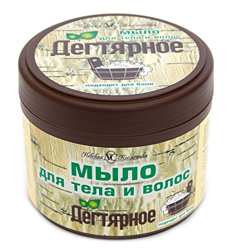 Teerseife für Haare und Körper Birkenteer