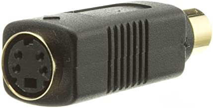 CableWholesale S Video to RCA Adapter, S-Video (MiniDin4) Female to RCA Female