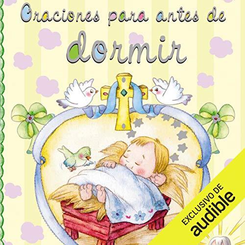 Diseño de la portada del título Oraciones para antes de dormir
