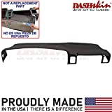 DashSkin Molded Dash Cover Compatible with 00-06 GM SUVs (exc Escalade & Z71) and 99-06 Pickups in Black (USA Made)