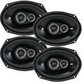 4 New Kicker DSC69 D-Series 6x9 720 Watt 3-Way Car Audio Coaxial...