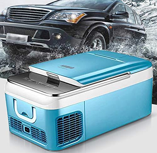 SSLL Mini Refrigerador 18L / 26L Compresor del AutomóVil Congelador De Enfriamiento Refrigerador Refrigerador De Doble Voltaje,para AutomóViles Y El Hogar - para Coche/Camping/Mariscos