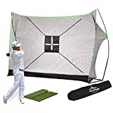 Best Golf Practice Nets - Golf Net Bundle 4pc | Professional Patent Pending Review