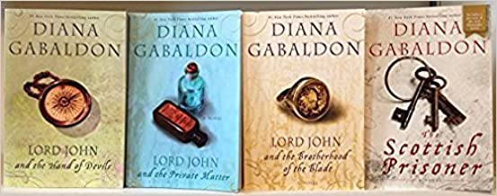 Diana Gabaldon Lord John Series Complete Set [Lord John and the Private Matter, The Brotherhood of the Blade, The Hand of ...