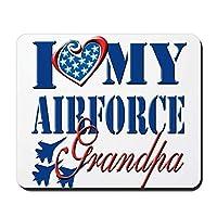 Yu Bo - 私は私の空軍おじいちゃんが大好き - 滑り止めラバーマウスパッド、ゲーミングマウスパッド