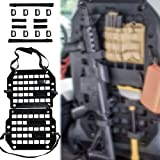 HEMSK DAYS Car Back Seat Organizer, molle Panel Rigid, seat Back Gun Rack, TacticalseatBackOrganizer, car Gun Rack,Truck Rifle Rack, Truck Gun Rack
