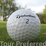 Easy Lakeballs 50 Taylor Made Tour Preferred Pelotas DE Golf RECUPERADAS/Lake Balls - Calidad AAA/AA (A/B Grade) - EN Bolsa DE Red