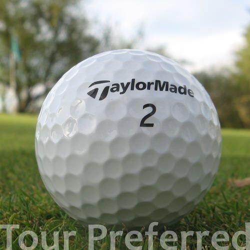 Easy Lakeballs 50 Taylor Made Tour Preferred BALLES DE Golf RÉCUPÉRATION/Lake Balls - QUALITÉ AAA/AA (A/B Grade) - dans Sac en Filet