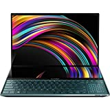 CUK ZenBook Pro Duo by_ASUS UX581LV Touch Studio Notebook with Screenpad Plus (Intel i9-10980HK, NVIDIA GeForce RTX 2060, 32GB RAM, 2TB NVMe, 15.6' 4K, Microsoft Windows 10 Pro) Laptop Computer