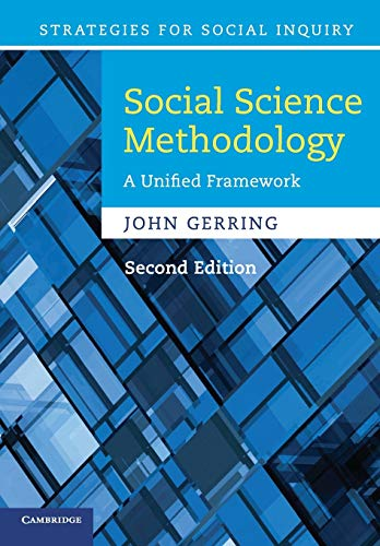 Compare Textbook Prices for Social Science Methodology: A Unified Framework Strategies for Social Inquiry 2 Edition ISBN 9780521132770 by Gerring, John