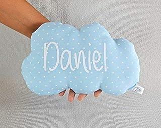Cojín nube para bebé personalizado. *Novedad: Puedes añadir una casa personalizada, es el envoltorio perfecto para present...