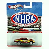 Hot Wheels '73 Plymouth Duster NHRA Championship Drag Racing 2011 Racing Series 1:64 Scale Die-Cast Vehicle