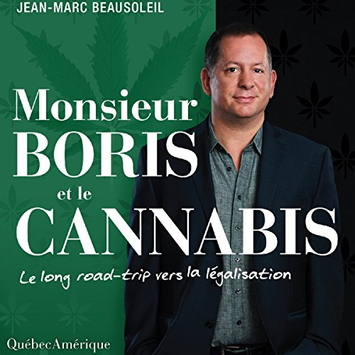 Monsieur Boris et le cannabis cover art