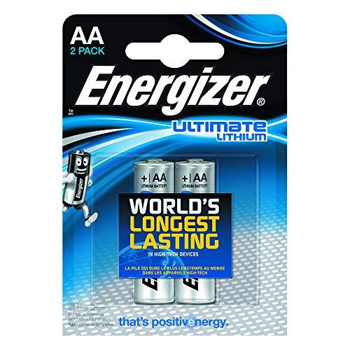 Batterie Energizer L91, Lithium, AA, 1,5V, 2 pezzi
