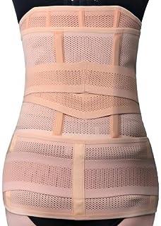 3nh Fleshcolor, M: Postpartum Recovery Belt 3 Abdomen+Stomach+Elastic pelvic Waist Body Shaper Slimming Waist Trainer Bell...