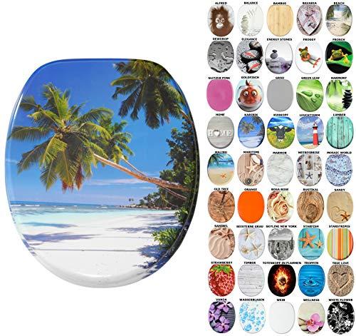 WC Sitz, viele schöne WC Sitze zur Auswahl, hochwertige und stabile Qualität aus Holz (Karibik)