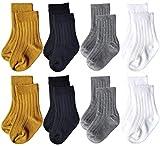 Toptim Unisex Baby Combed Cotton Socks Toddler Four Seasons Ankle Socks for Infant Boy Girls 0-12 Months