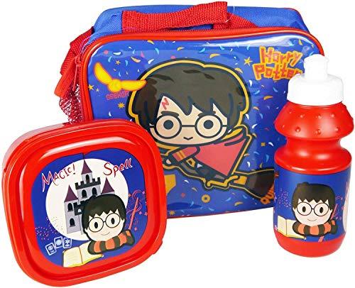 Harry Potter - Bolsa de almuerzo (3 piezas)
