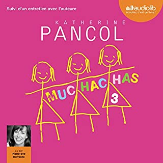 Muchachas 3                   By:                                                                                                                                 Katherine Pancol                               Narrated by:                                                                                                                                 Marie Eve Dufresne                      Length: 14 hrs and 7 mins     6 ratings     Overall 4.3