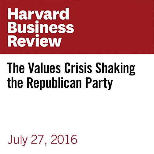 The Values Crisis Shaking the Republican Party copertina