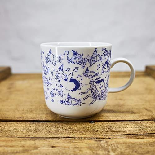 Kaffeebecher Party Motive - Maritime Porzellan-Tasse von Ahoi Marie