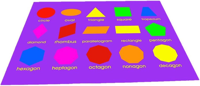 Geometric Shapes Playmat (150 x 100cm)