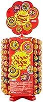 Chupa Chups Ruota Lecca Lecca, Lollipop Frutti Assortiti Gusto Fragola, Ciliegia, Arancia, Lampone, Vaniglia, Cola e...