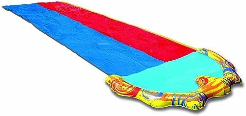 wholesale BANZAI 16ft x sale 58in Splash popular Sprint Racing Water Slide (Double Slide) online sale
