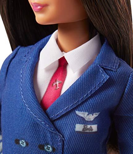 Achetez la Barbie Carrières Poupée Pilote Avion - 5