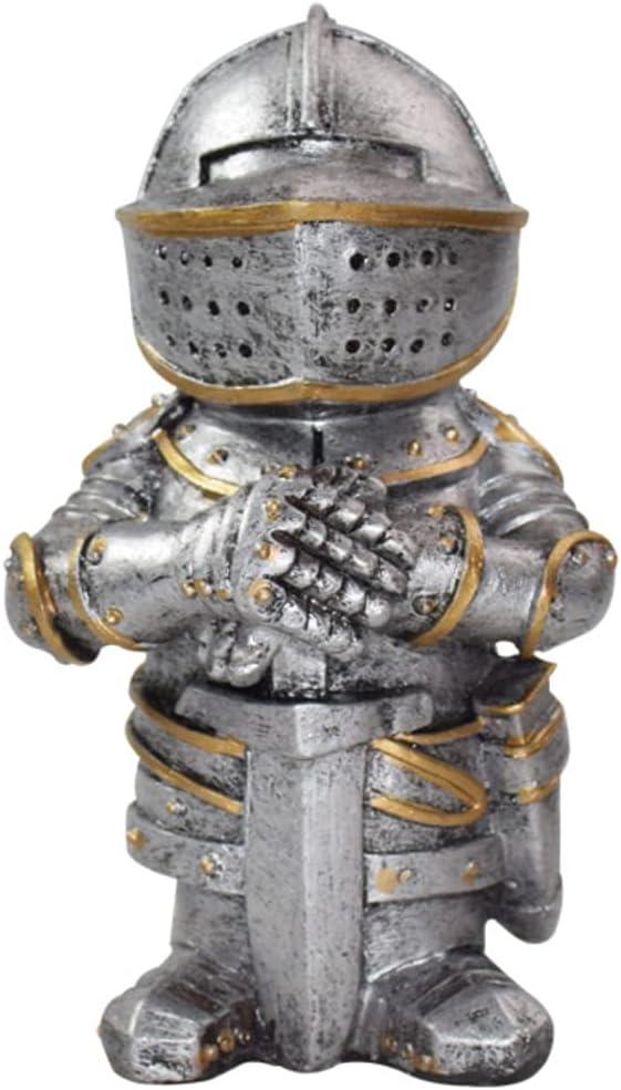 Ktdzone Mini Retro Armor Guard Statue - Figurine Sword Max 64% OFF Ornament free shipping