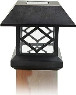 Size : S Pinjeer Modern Minimalist Outdoor Waterproof Pillar Lamp ...