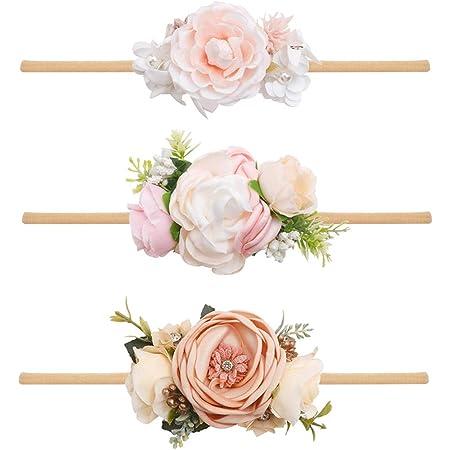 Baby Headband Flower Girl Headband Floral Baby Headband Flower Girl Hair Accessories