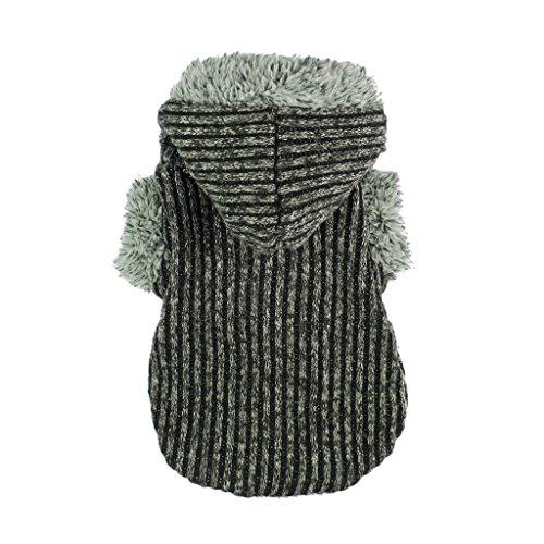 Fitwarm Knitted Hooded Dog Sweatshirt