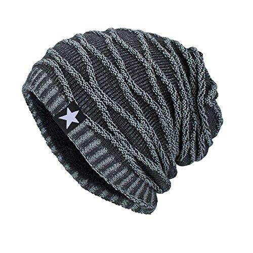 iHENGH Bequem Lässig Mode Unisex Strickmütze Hedging Head Hat Beanie Cap Warme Outdoor Mode Hut GY