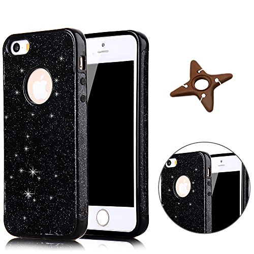 MAOOY Caja para iPhone 5s, iPhone 5 Luxury Ultraligero de Silicone Rubber...