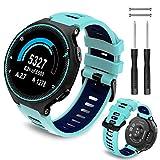 Th-some Correa para Garmin Forerunner 735XT - Compatible con Forerunner 235 Correa de Reloj, Pulsera de Reemplazo Silicona Suave Sports Banda para Forerunner 220, 230, 620, 630 y 245 Smart Watch