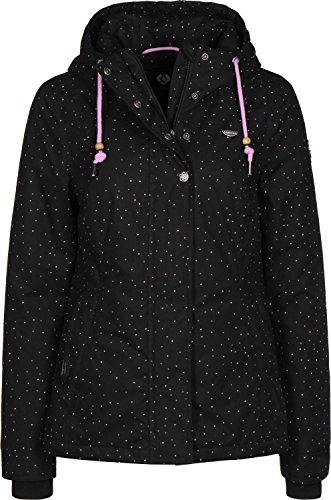 Ragwear Lynx Dots - 1010/Black - Women´s