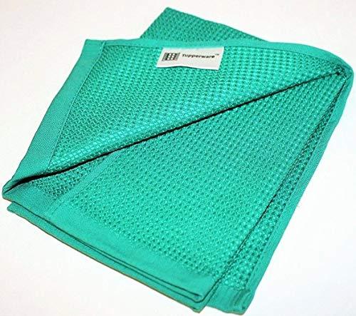 TUPPERWARE Microfibra Paño para Cristales limpieza azul