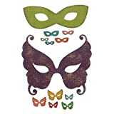 Sizzix Set di Fustelle Thinlits 12Pz Mascherata, Multicolor, taglia unica