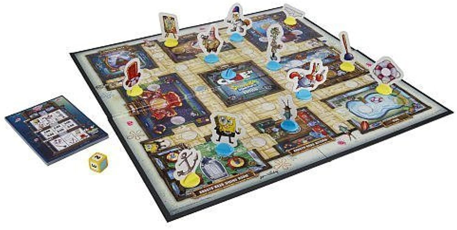 RJ Quality Products Clue Junior Board Game  Spongebob Edition