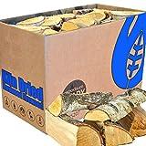 EcoBlaze Legna da Ardere premio tronchi di legno duro da 25 cm essiccati al 20% - caminetti, stufe, fornelli a legna, fuochi all'aperto, falò, forni per pizza e altro