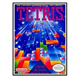 Swarouskll Tetris Game Cover Wandkunst Poster Leinwand
