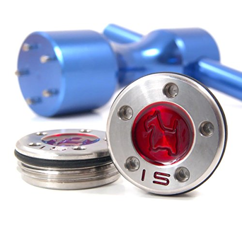 19th Hole Custom Shop 2 of 15g Red Scottie Dog Weight for Scotty Cameron Putters with Wrench Tool (Blue)