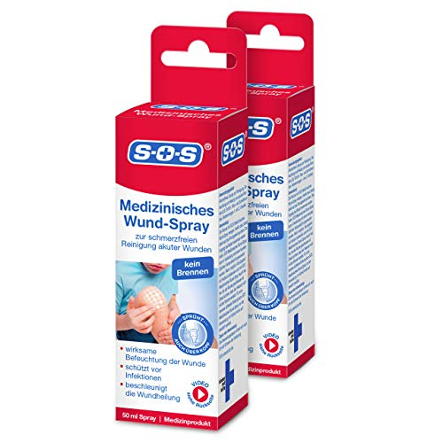 SOS Medizinisches Wund-Spray (2er-Pack)